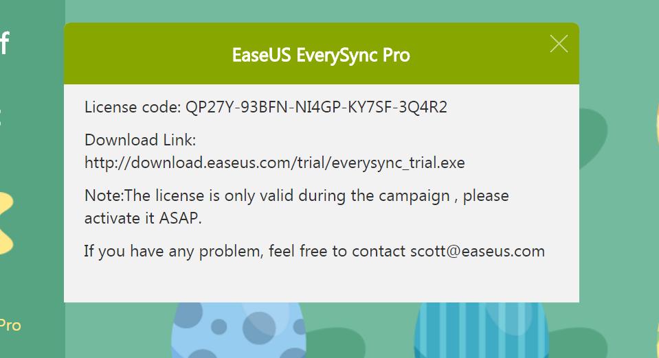 快搶好康!EaseUS 復活節活動數百美元電腦軟體限時免費送! @3C 達人廖阿輝