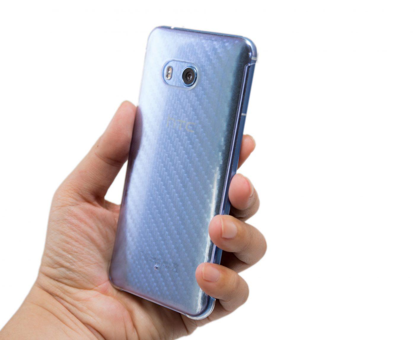 HTC U11 Edge Sense 不能用硬殼?沒這回事!實測含影片 @3C 達人廖阿輝