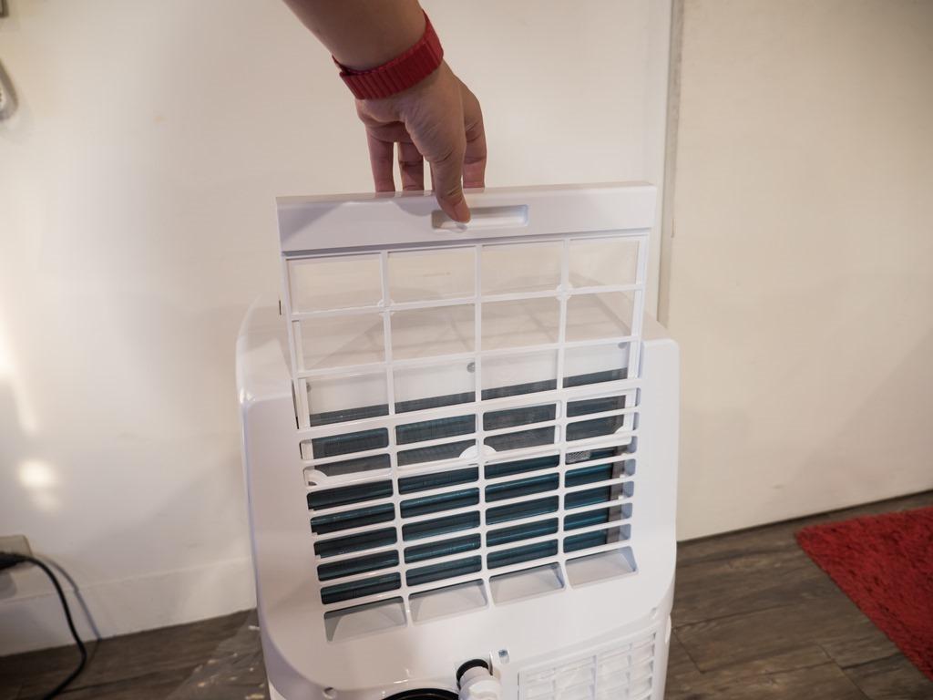 功能完整附帶超強機動性!Honeywell 移動式冷暖空調兼具冷氣、暖氣、風扇、除濕功能四合一 @3C 達人廖阿輝