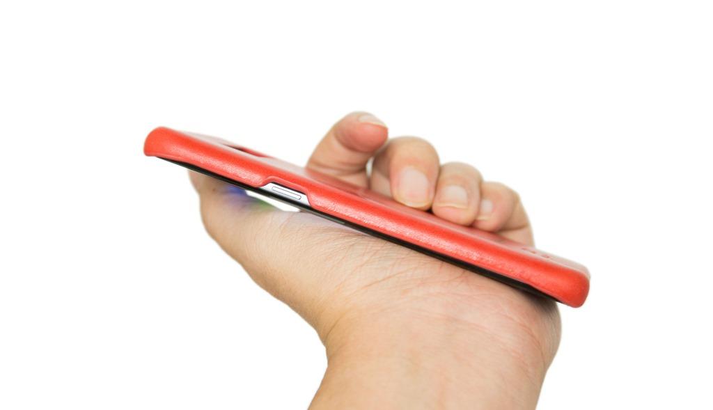 [開箱] [不推薦] alto 義大利 Samsung Galaxy S8 皮革保護殼 Original 珊瑚紅 @3C 達人廖阿輝