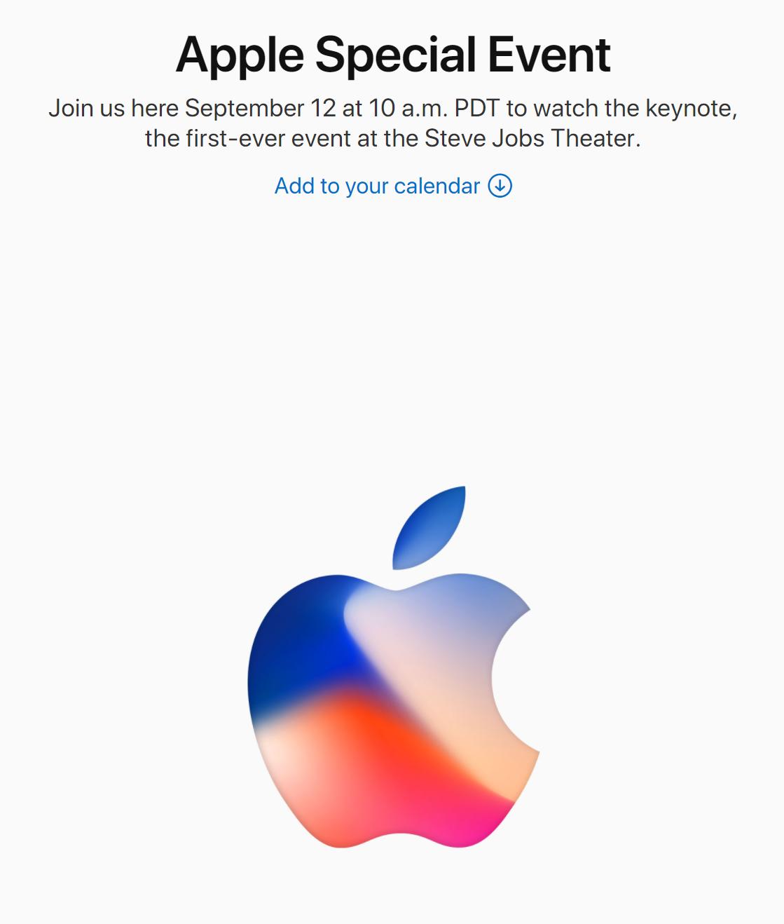 Apple iPhone 8 / 7s 真的要來了!台灣時間 9/13 凌晨 1:00 @3C 達人廖阿輝