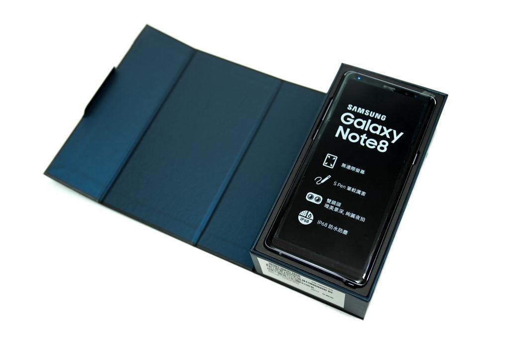 台版 Samsung Galaxy Note 8 開箱,看看盒中有什麼?(Note 8 unboxing) @3C 達人廖阿輝