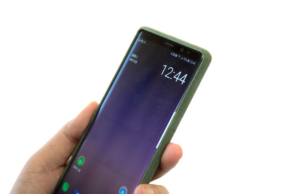 想幫 Note 8 找保護殼嗎?原廠 Alcantara 麂皮背蓋入手分享 @3C 達人廖阿輝