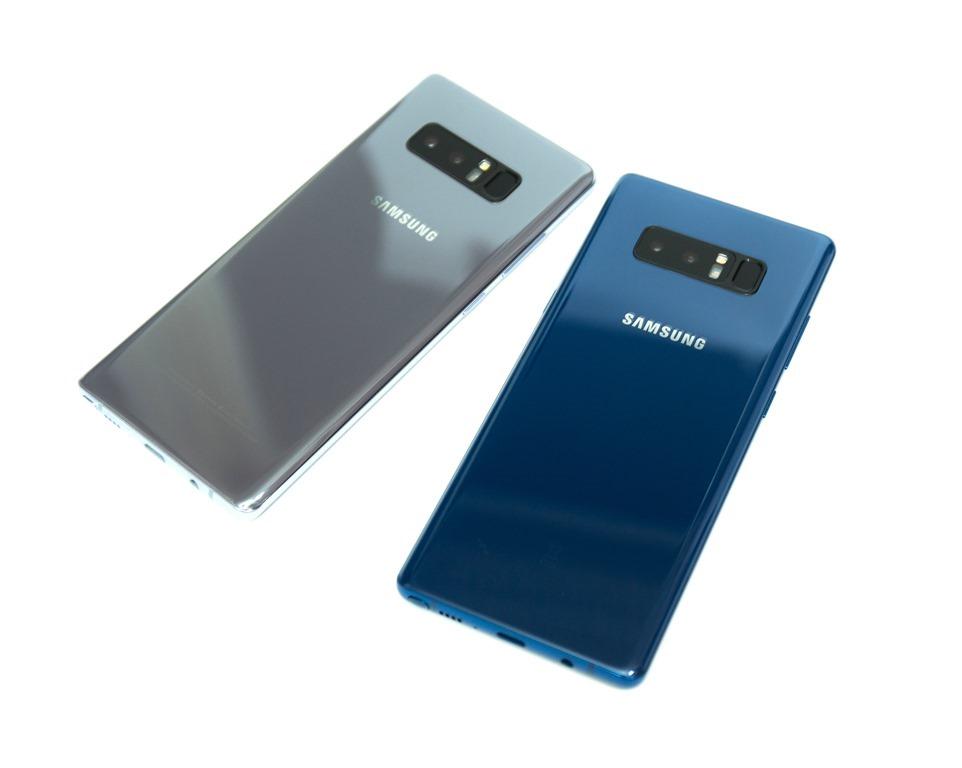 港版『深海藍』Note 8 開箱 + 常見問題(台灣可以用嗎?/差異與比較)台灣沒有的 Deepsea Blue 128GB 版本 @3C 達人廖阿輝