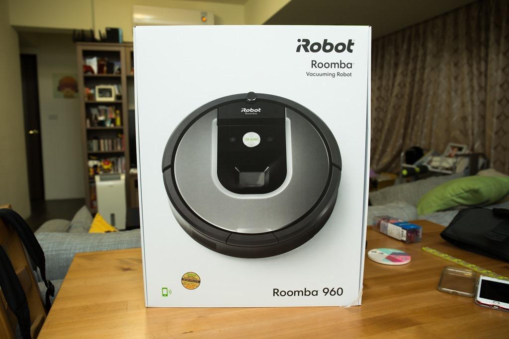 Wi-Fi 雲端技術掌握家中清掃事宜 iRobot Roomba 960 掃地機器人開箱評測 @3C 達人廖阿輝