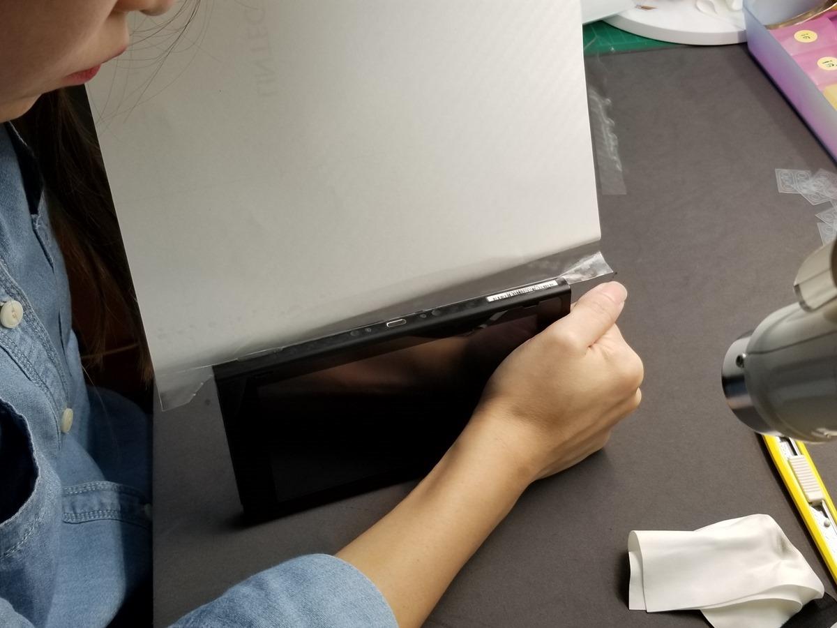 台灣 Nintendo Switch 上市啦!開箱分享 + 包膜 & 康寧保護貼強力推薦! @3C 達人廖阿輝
