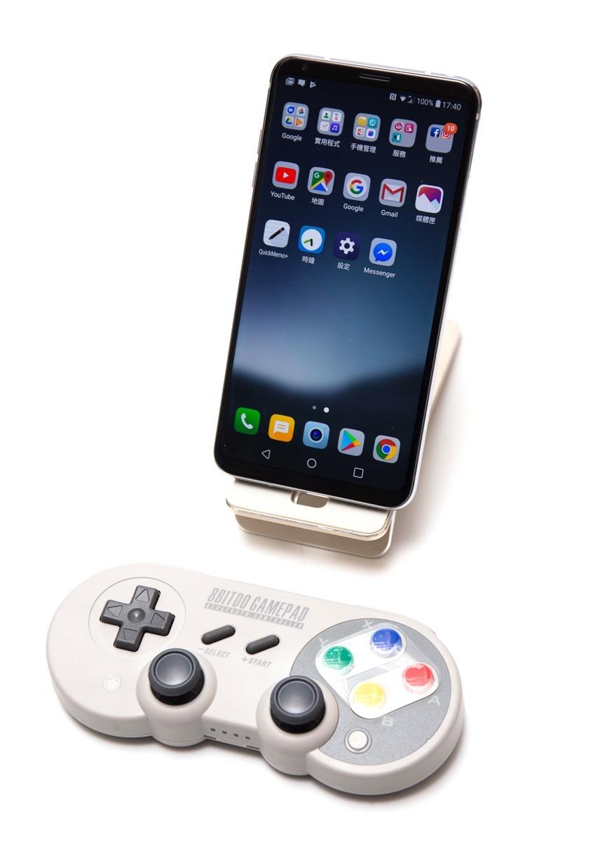 支援任天堂 Switch!手機電腦掌機都可以用的 8BitDo 八位堂 SF30 Pro 復刻多用途手把 @3C 達人廖阿輝