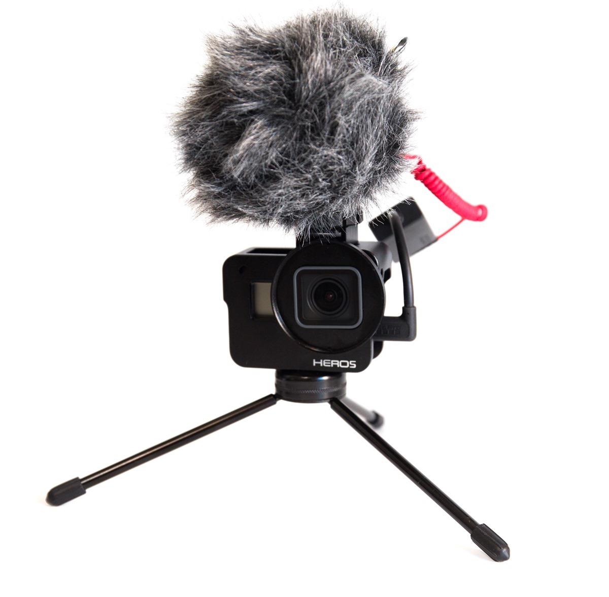 阿輝的 GoPro 6 週邊分享 (1) SLOPES 支架 / 嘴咬式固定座 / 麥克風轉接線 / 金屬框 / TELESIN 充電盒 @3C 達人廖阿輝