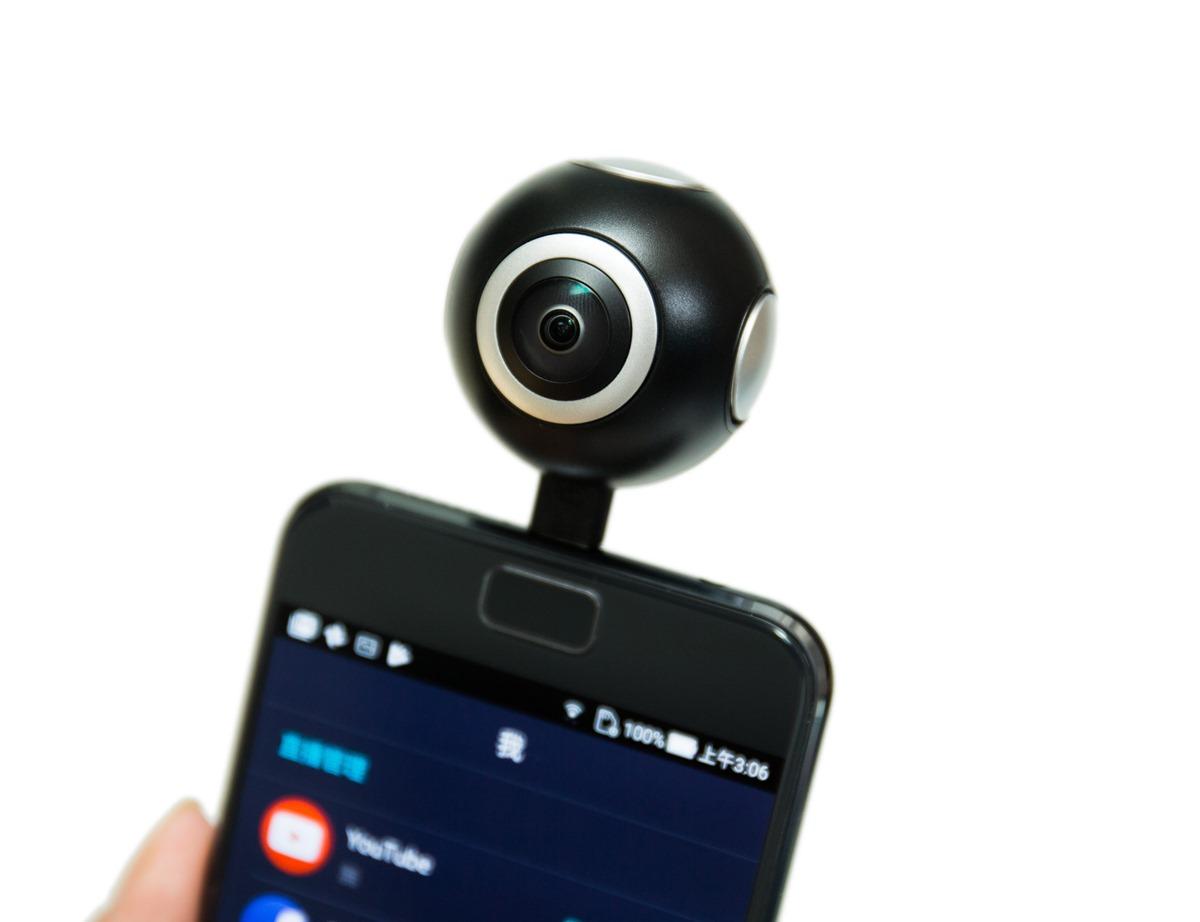 輕鬆入手簡單用!ASUS 360 相機一裝就用! @3C 達人廖阿輝