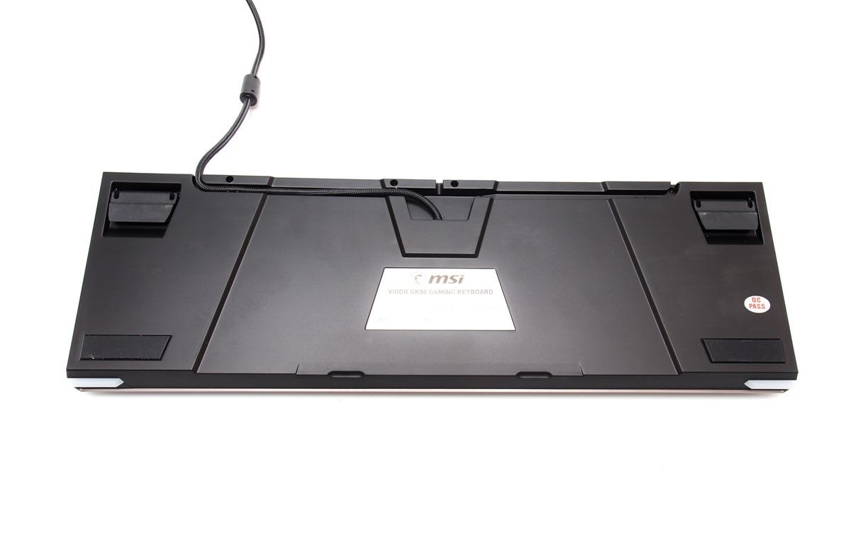 旗艦電競機械鍵盤!MSI 微星 Vigor GK80 開箱分享(紅軸版本)@3C 達人廖阿輝