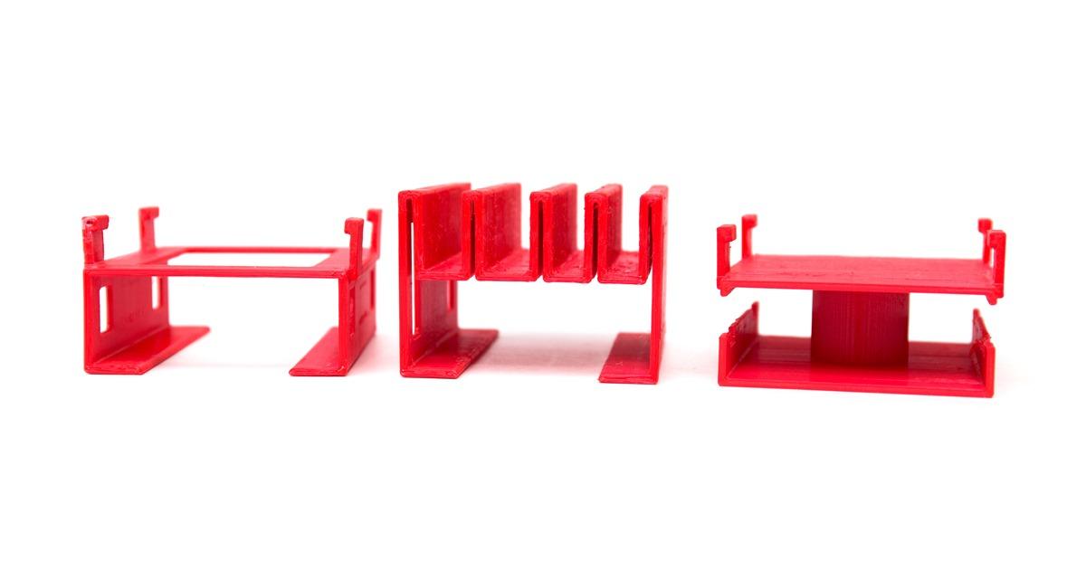 3D 列印模組化手機充電器底座套件 @3C 達人廖阿輝