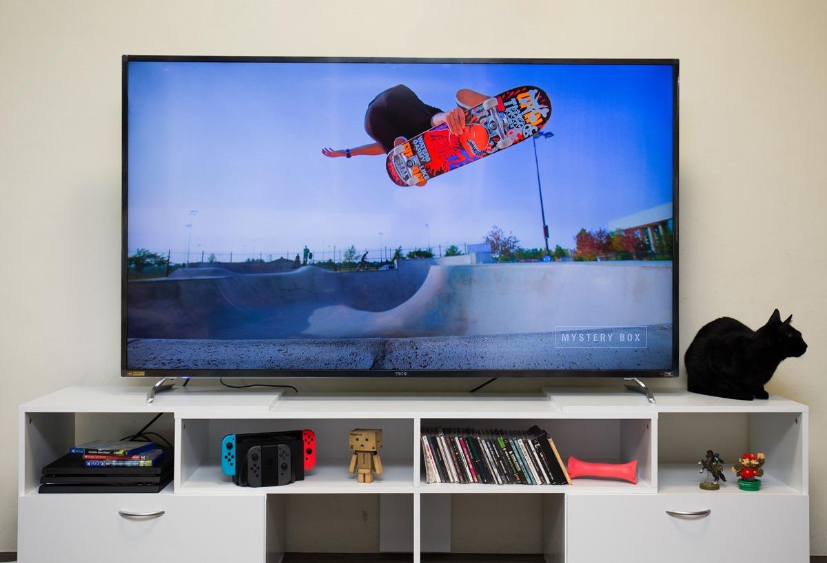 超高 CP 值 65 吋 4K HDR 液晶電視 TECO TL65U1TRE 開箱! @3C 達人廖阿輝