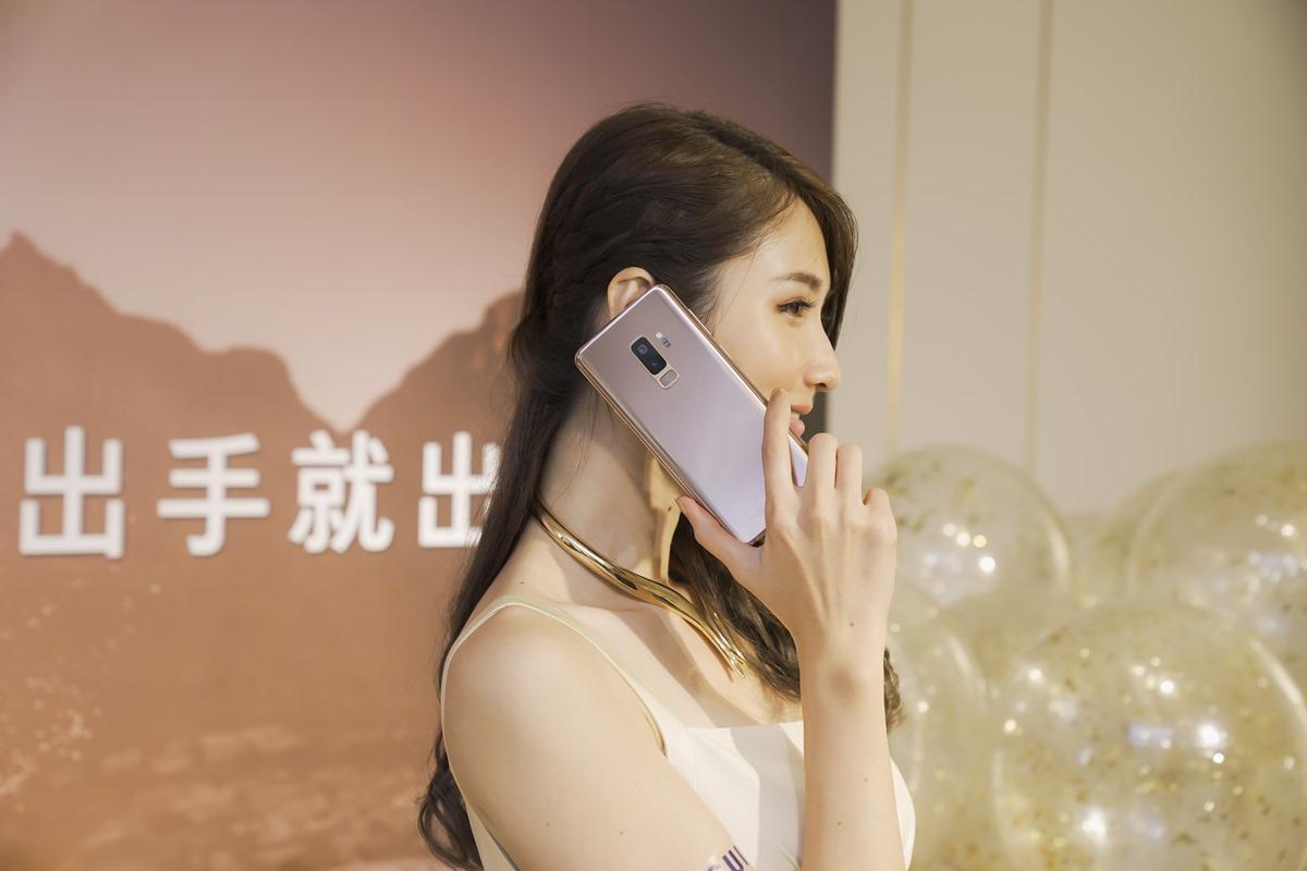 三星 Galaxy S9+ 新色「晨漾金」登場!亮眼吸睛動手玩! @3C 達人廖阿輝