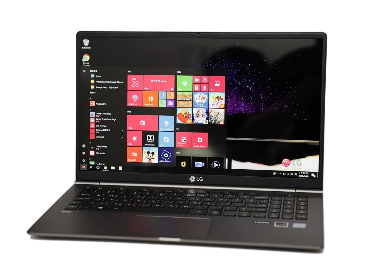 [筆記] LG gram 15Z980-G.AA75C2 輕薄筆電入手 (i7-8550U/8G/512GB SSD/W10 Home/FHD) @3C 達人廖阿輝