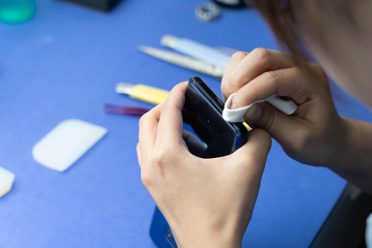 超美 HTC U12+ 透視藍入手!AG2BG 康寧玻璃保護貼 + 全機包膜!最完整保護! @3C 達人廖阿輝