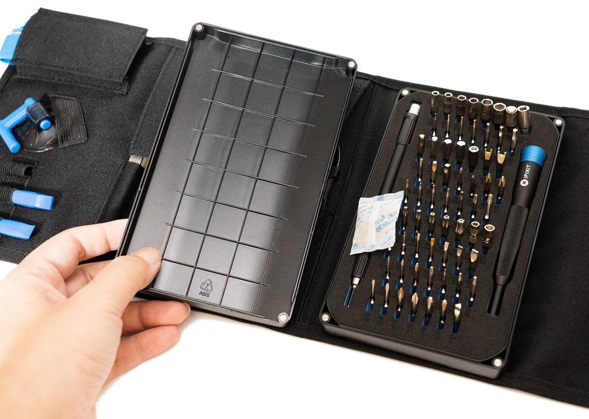 科技人的名牌 iFixit Pro Tech Toolkit 專業精密工具組開箱 @3C 達人廖阿輝