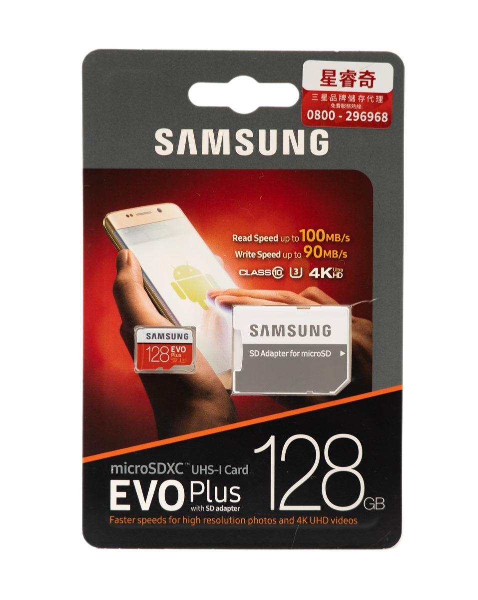 公司貨來了!三星 128GB 高速 EVO Plus UHS-1 C10 U3 記憶卡實測 @3C 達人廖阿輝