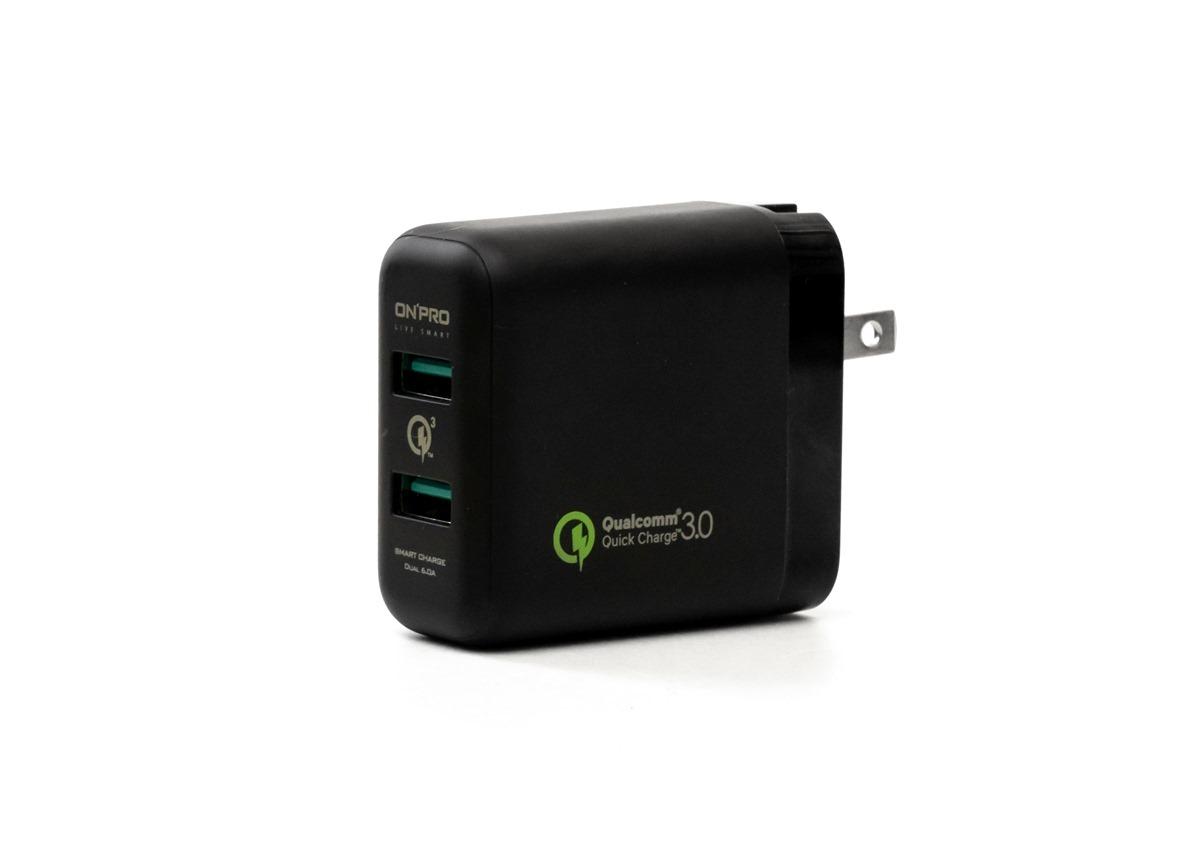 一個當兩個用 ONPRO UC-2PQC36 QC3.0 急速 USB 充電器 開箱 + 小米 2 Port USB 充電器 選購建議 @3C 達人廖阿輝