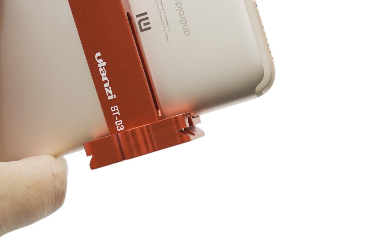 最好用的手機夾!Ulanzi ST-03 可折疊 + 免快拆板上腳架 + 隱藏式熱靴 @3C 達人廖阿輝