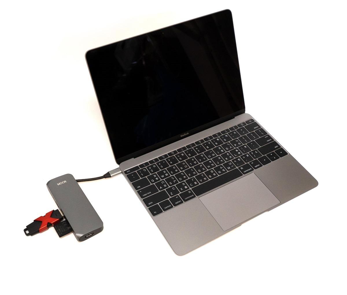 Type-C 多功能充電傳輸集線器 MOOR 分享 (HDMI/讀卡機/USB/可收納線材) @3C 達人廖阿輝