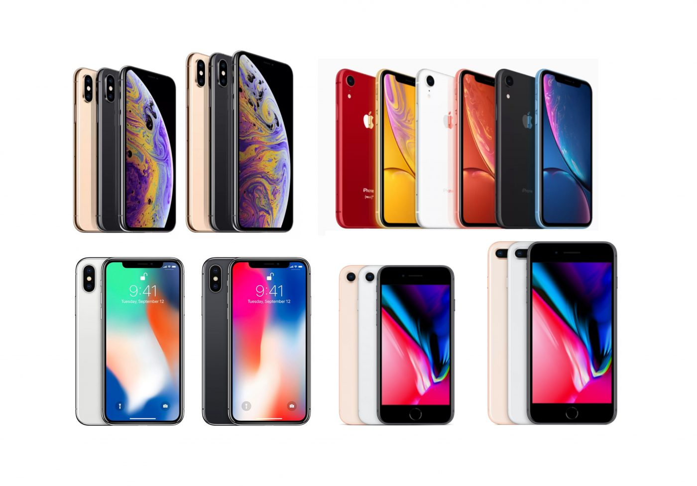 誰貴誰強一次看明白!iPhone XS / XS Max / XR 與 iPhone X / 8 / 8 Plus 全規格完整比較表! @3C 達人廖阿輝