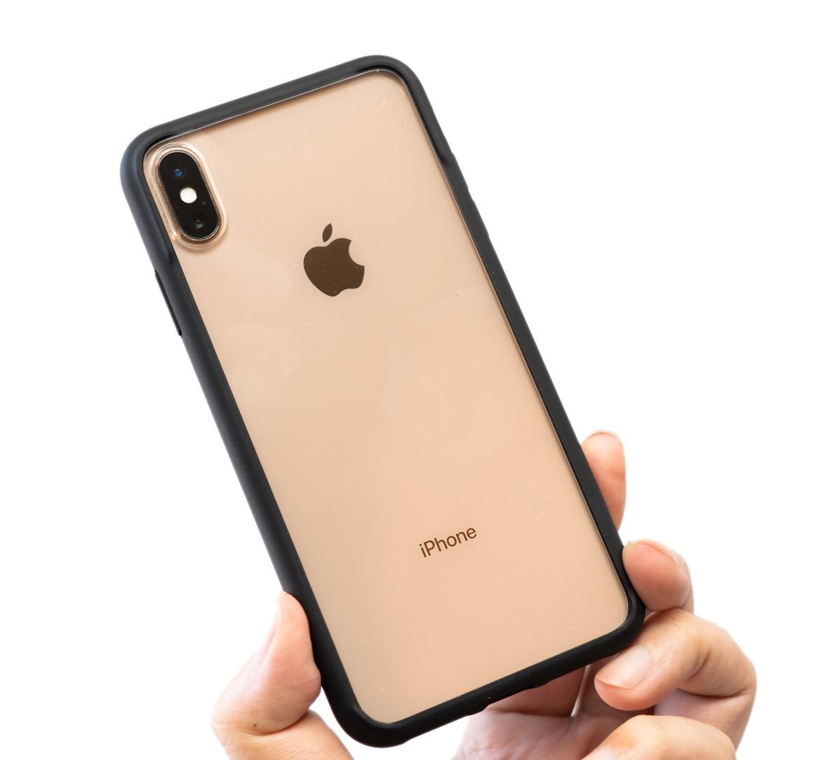 幫 iPhone Xs/ Xs Max 尋找保護殼嗎?!絕對不卡保護貼的 imosCase 軍規認證雙料防震保護殼 @3C 達人廖阿輝
