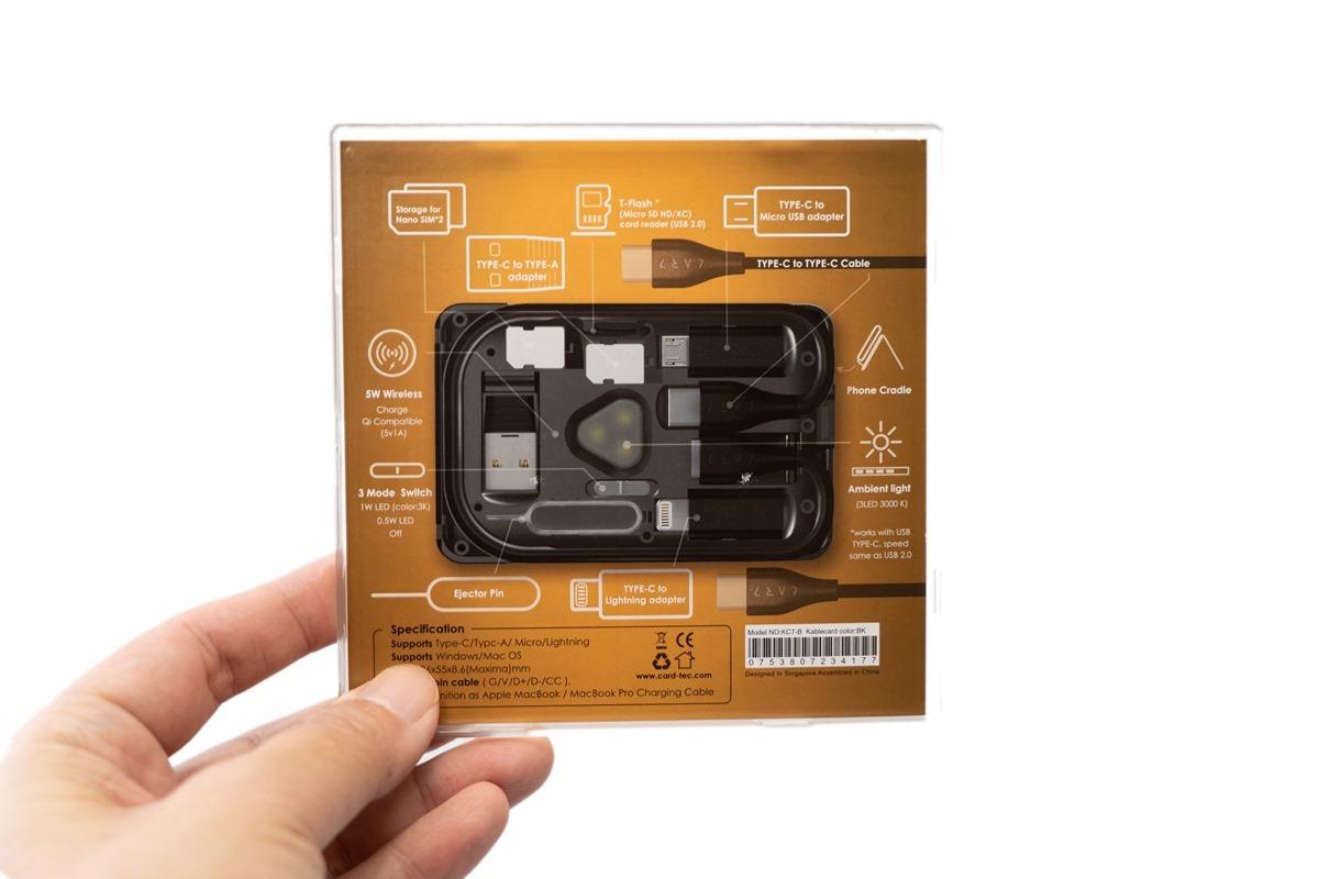 開箱!隨身科技小物『KableCARD 都市生存卡』入手分享 @3C 達人廖阿輝