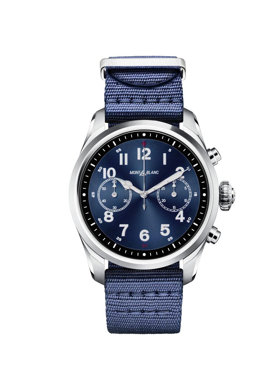 首款 Snapdragon Wear 3100 智慧手錶!Montblanc 萬寶龍 Summit 2 奢華智能腕錶 @3C 達人廖阿輝