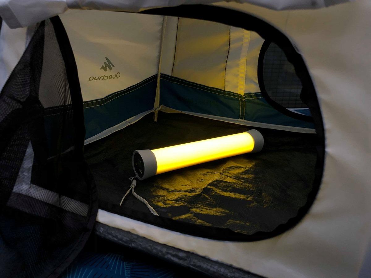 居家、外出好朋友,露營、陽台必備神器,TOAO 第二代 iLED 攜帶式多功能燈管 @3C 達人廖阿輝