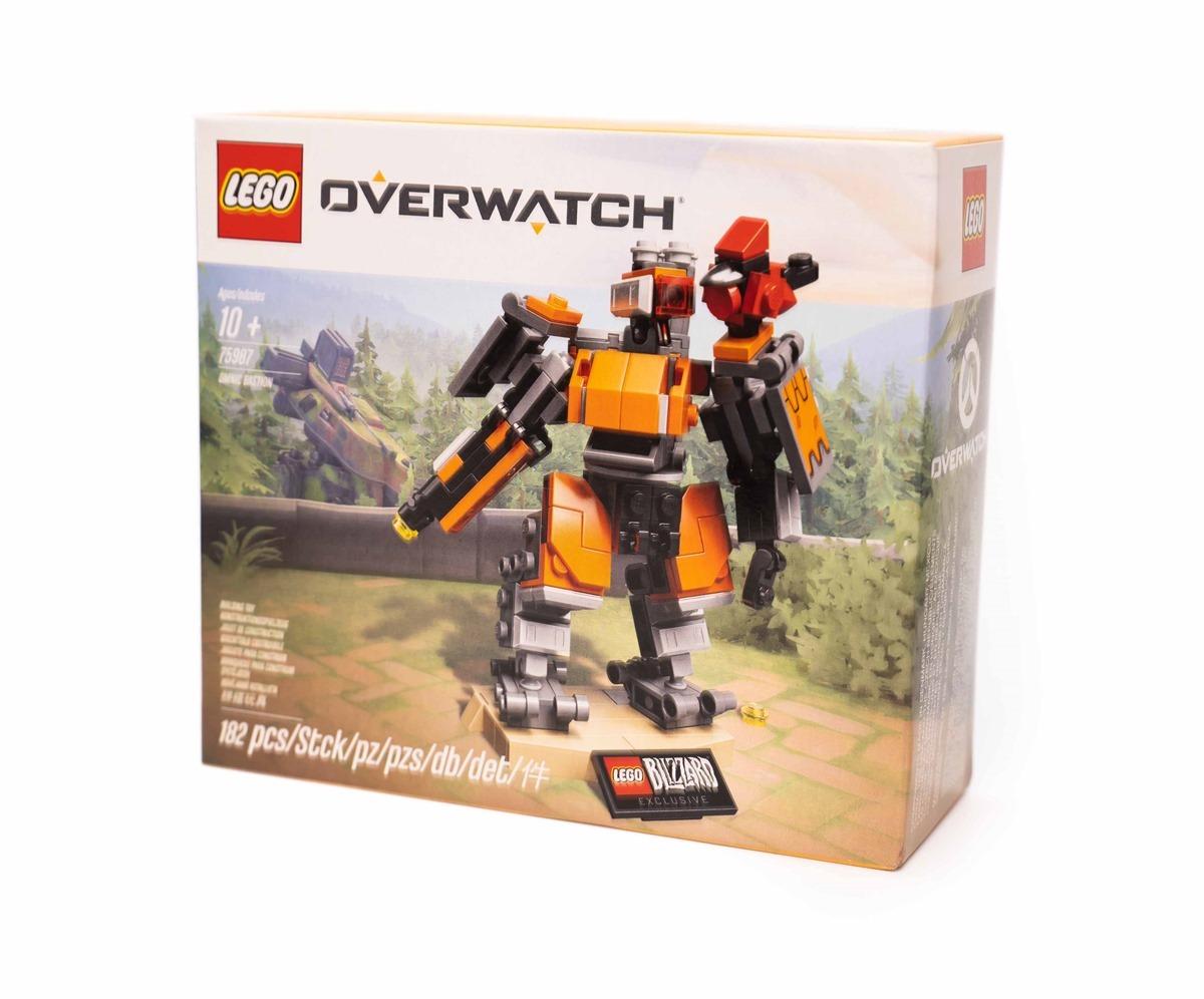 OverWatch 鬥陣特工 + LEGO 樂高!LEGO 75987 壁壘機兵入手開箱分享!(Blizzard 官網限定)@3C 達人廖阿輝