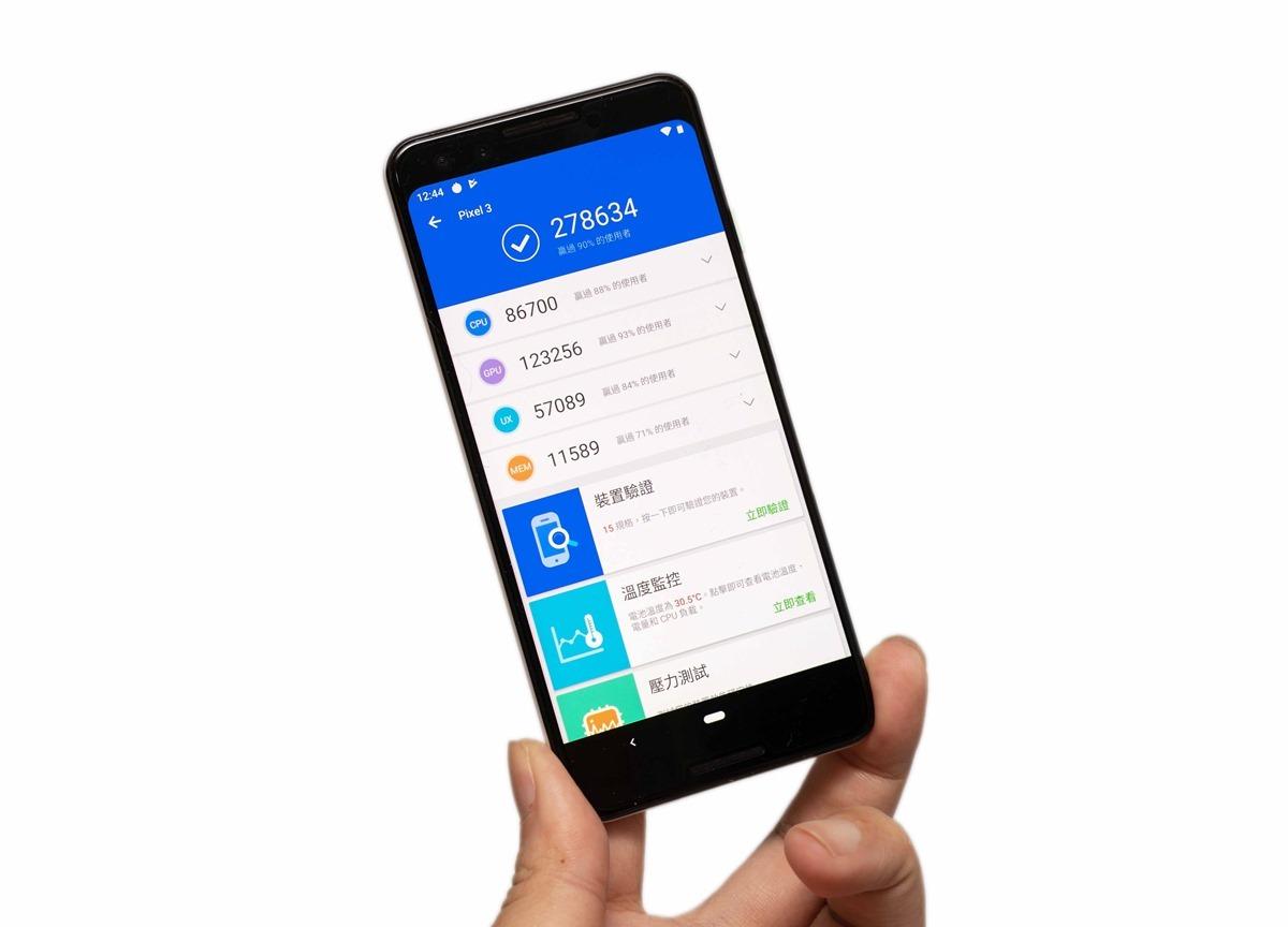 Google Pixel 3 性能電力實測;是最強的小手機嗎?速度快不快?電力強不強? @3C 達人廖阿輝