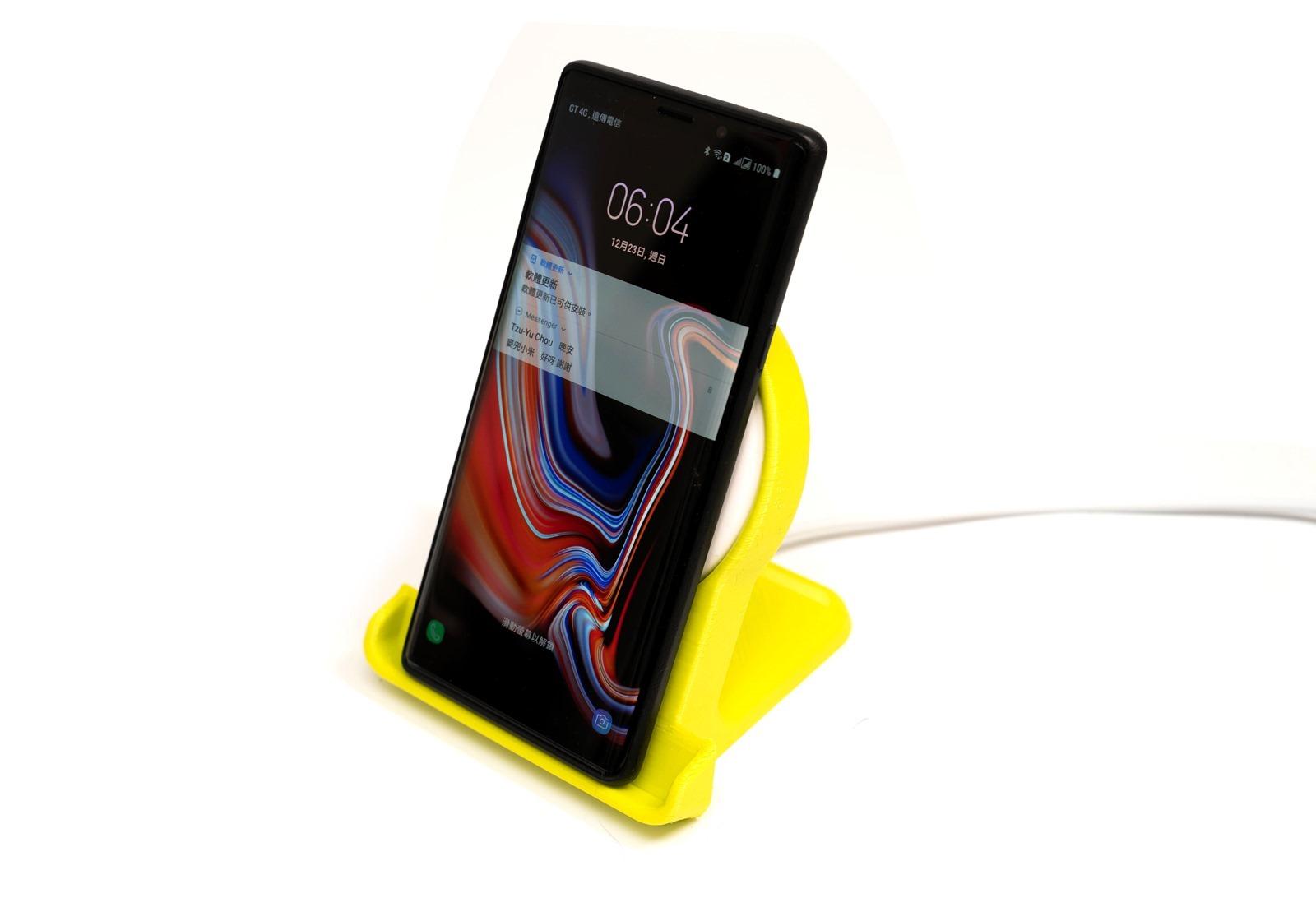 [3D 列印] 華為無線充電底座 3D 列印立架 @3C 達人廖阿輝