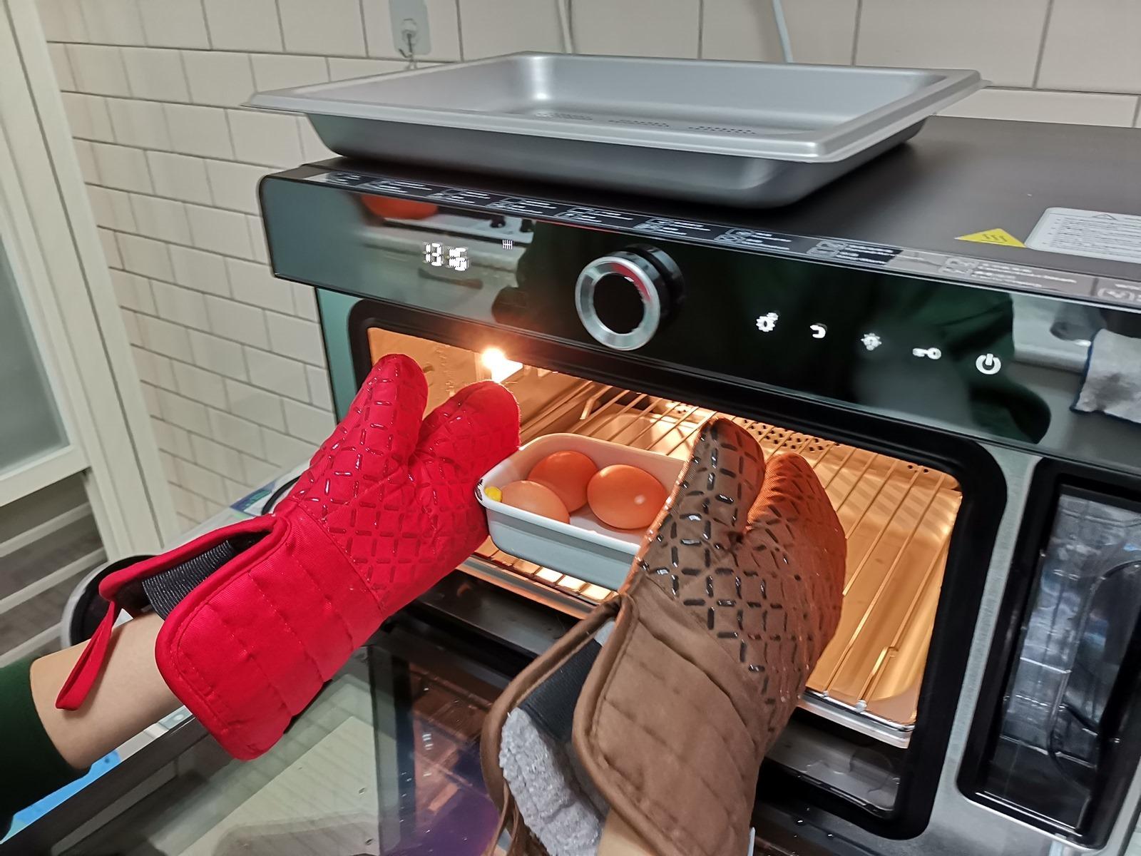 好操作!全能烹調!鏡面美型『惠而浦 WSO3200B 全能蒸烤爐』開箱分享 & 還很好清潔 @3C 達人廖阿輝