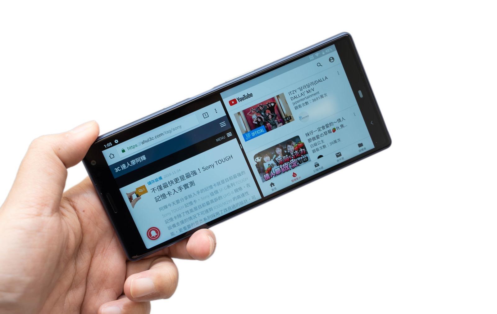 21:9 手機來了!Sony Xperia 10 / 10 Plus 實機動手玩! @3C 達人廖阿輝