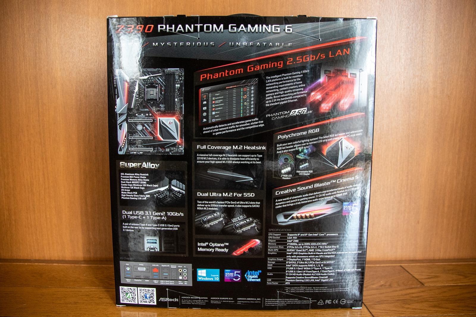 ASROCK Z390 Phantom Gaming 6 主機板開箱 旗艦用料與配置,價格也更親民 @3C 達人廖阿輝