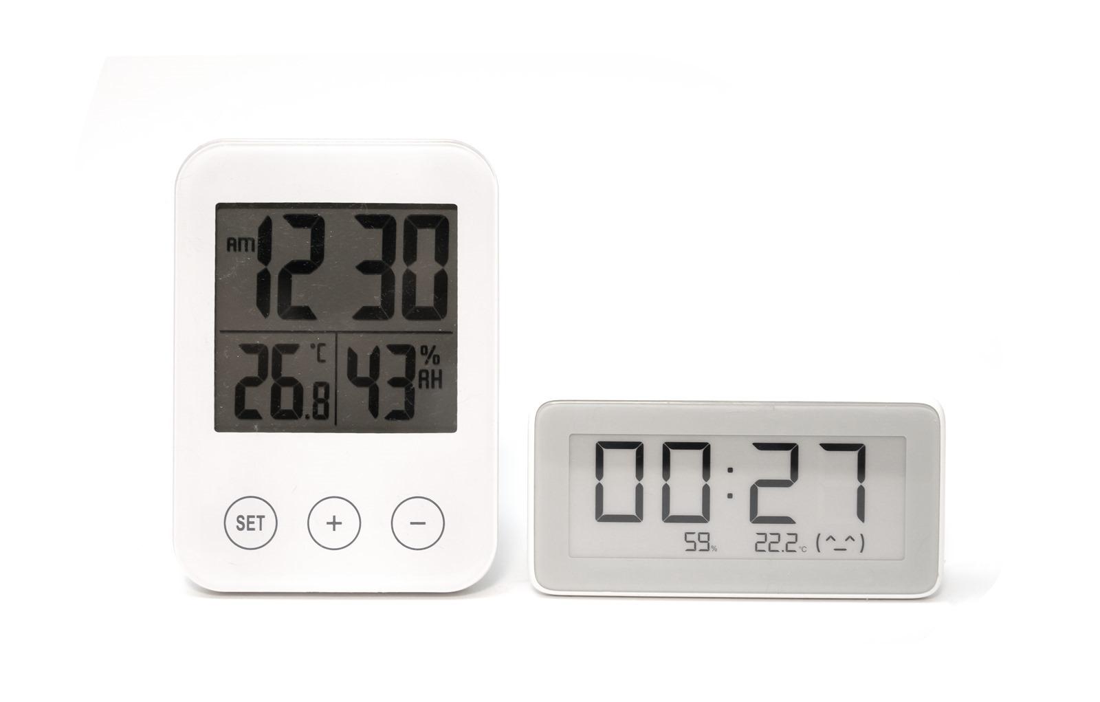 電子紙打造最美溫濕度時鐘!小米米家溫濕監測電子錶開箱 @3C 達人廖阿輝