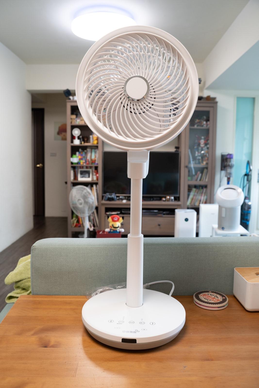 中保無限+ AIR CIRCULATOR 空氣循環扇,科技對流智慧連動、輕鬆生活涼一夏 @3C 達人廖阿輝