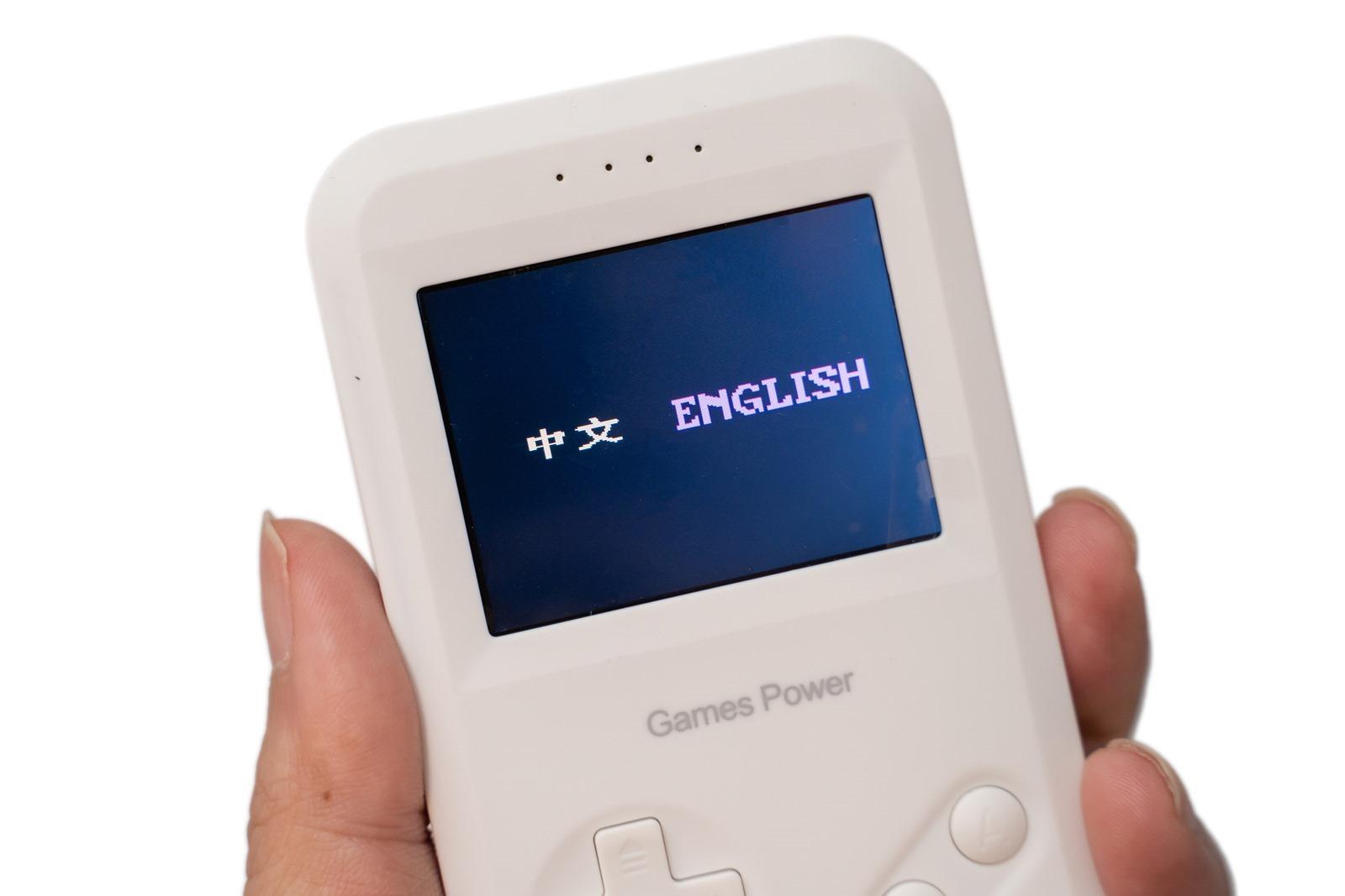 是行動電源還是復古掌上遊戲機?!Games Power 經典遊戲機 8000mAh 開箱! @3C 達人廖阿輝