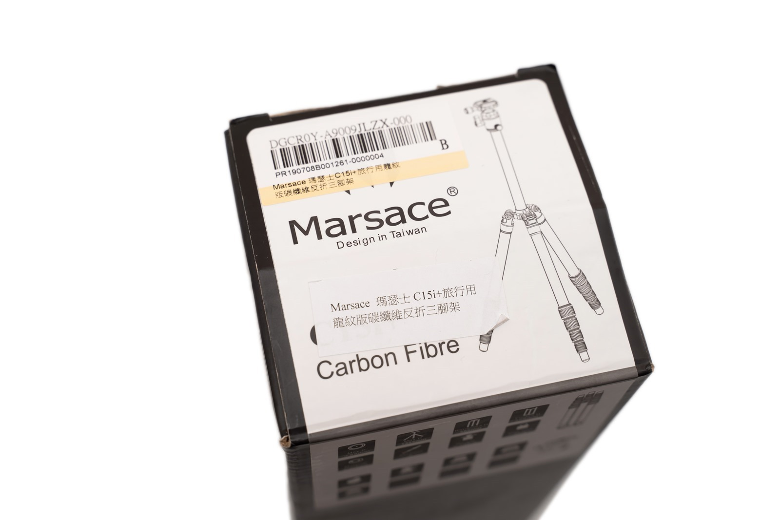 依然是四千最值得買嗎?Marsace 瑪瑟士 C15i+ 碳纖維攜帶腳架開箱~ 和 C15i 比比看有什麼不同 @3C 達人廖阿輝