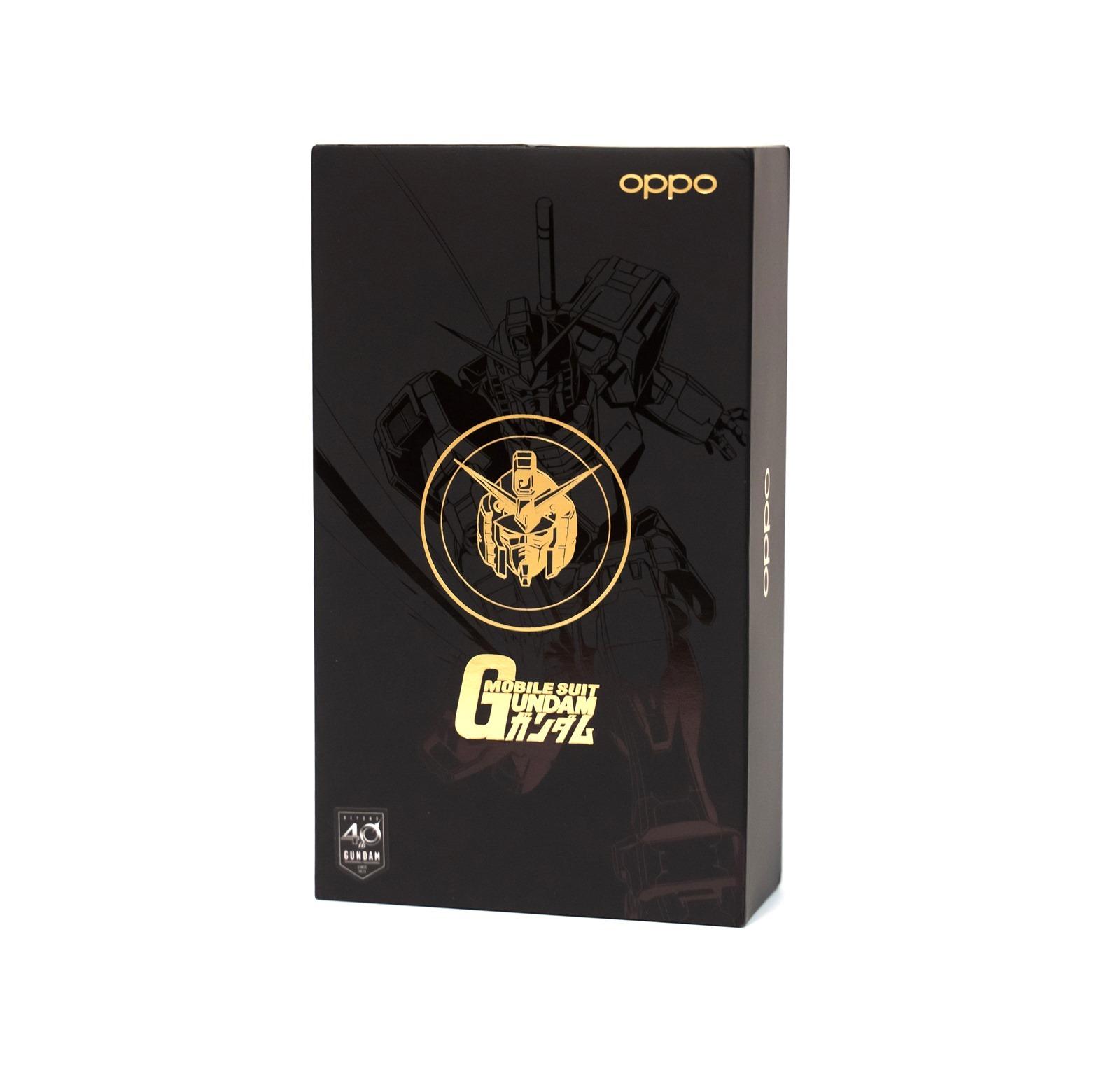 OPPO x 鋼彈 40th 聯名:RX-78-2 初鋼 VOOC 閃充行動電源 @3C 達人廖阿輝